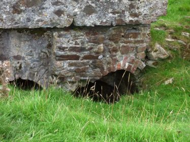 Remains of water ducts at Mill Buildings Stratford-on-Slaney   Mary Hargaden September 2015