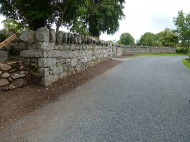 Lane at Derralossary on Mile   Roundwood and District Community Council
