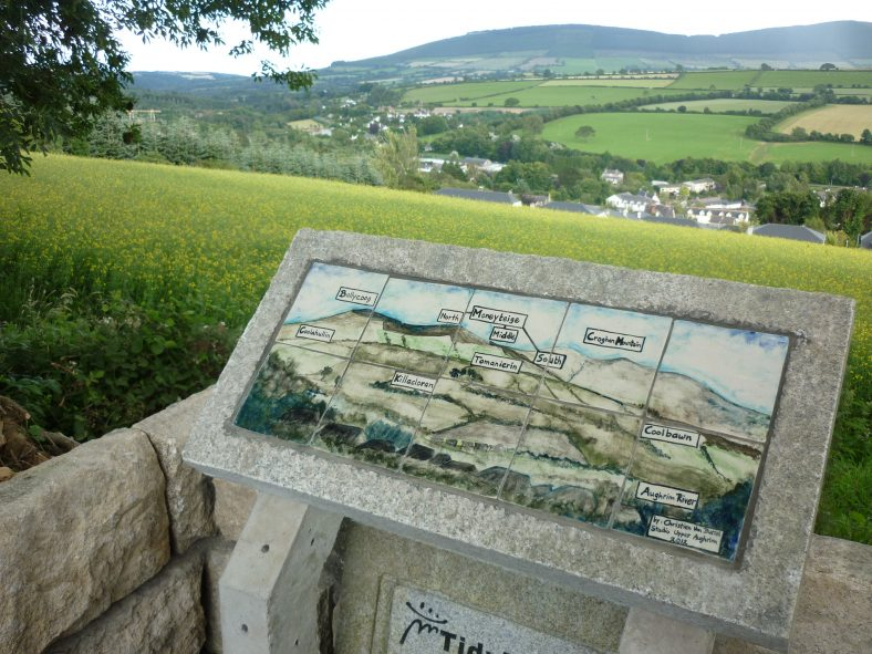 Viewing Point on Pure Mile - Ceramic by Christien Van Bussel | Aughrim Tidy Towns Limited