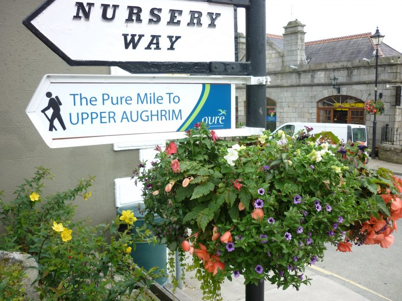 Start of the Mile/Nursery Way | Aughrim Tidy Towns Limited