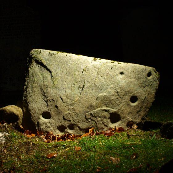 Neolithic Rock Art, Preban Cemetery, Co. Wicklow.