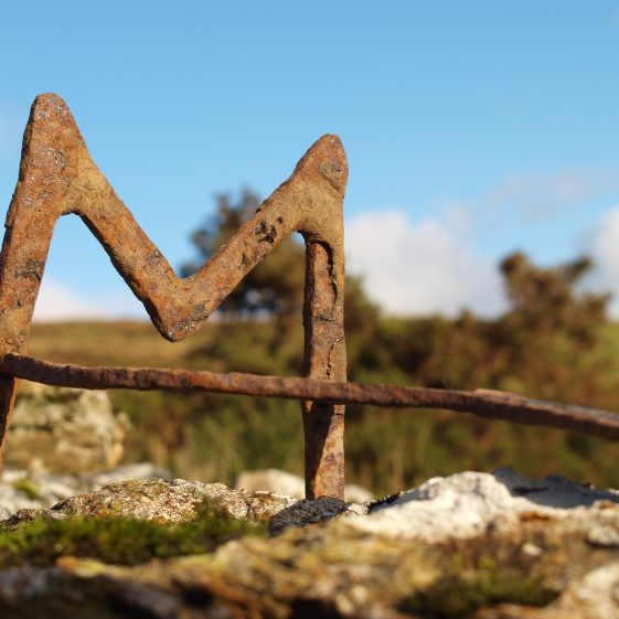 Branding iron found at Mulhall family home Askanagap, Co. Wicklow