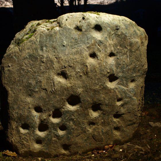Neolithic Rock Art, Preban cemetery, Co. Wicklow
