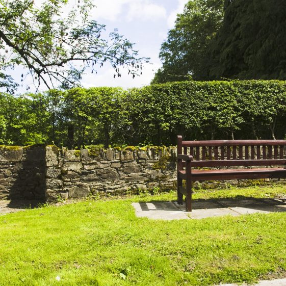 Park Bench and Pump in the sunshine | Dunlavin Tidy Towns