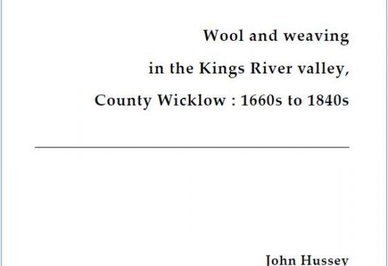 Wool & Weaving in the Kings River Valley