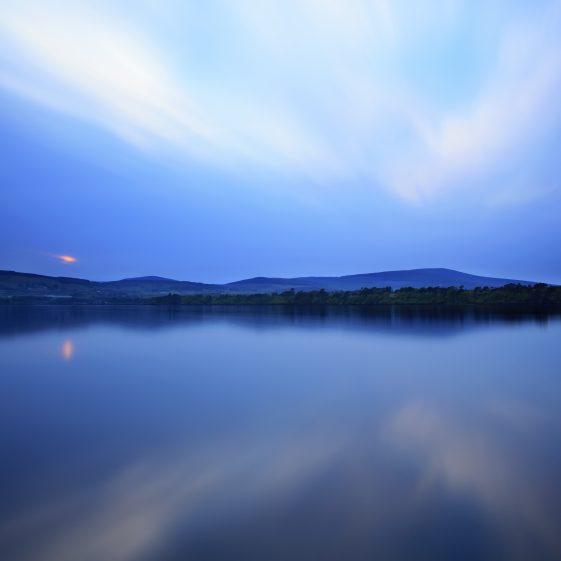 Poetic Blue, Vartry Reservoir | Lana Galina
