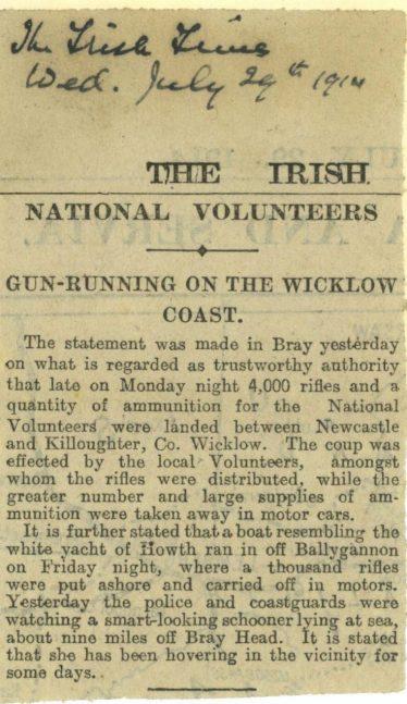 Irish Times, July 29 1914