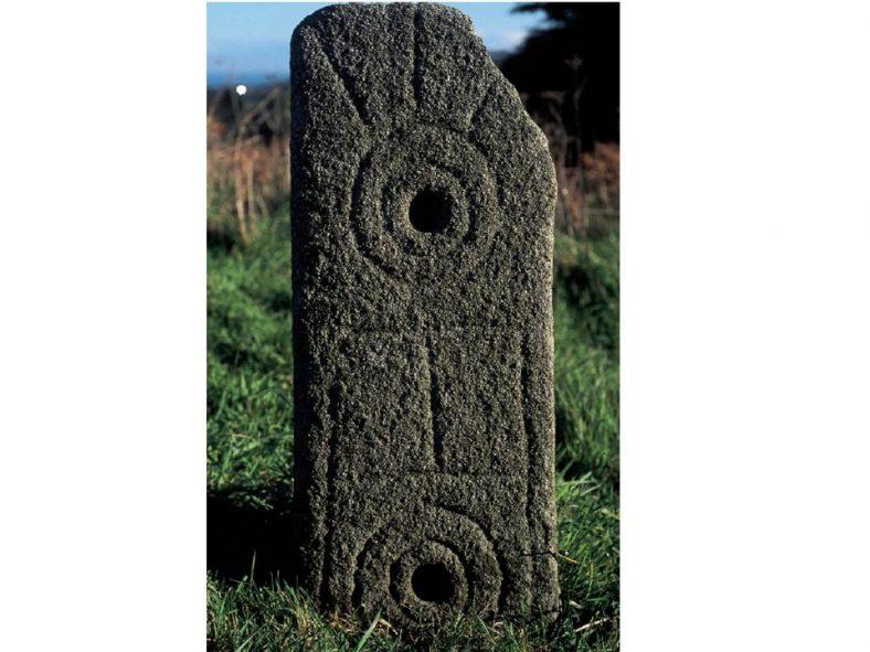 Viking grave-slab from Killegar, near Enniskerry | Chris Corlett, 2007