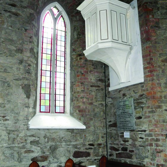 Pulpit of John Nelson Darby at Calary Church Open Day | Mary Hargaden