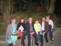 Some of the Pure Mile group   Wicklow Way Group