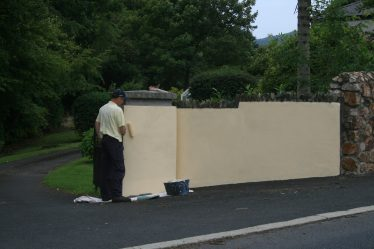 Paintstaking work   Newcastle Residents Association