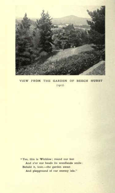 View from Beech Hurst | from Poems: national and international (1919)