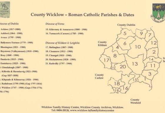 3. County Wicklow Parish Records: Catholic