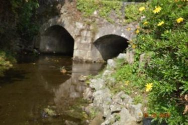 Rathnew Bridge and site of the old stables | Tommy Kearney