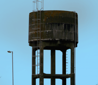 Water Tank probably from Kynoch's | Mary Hargaden