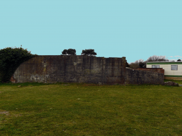 Remaining Wall on Kynoch Site | Mary Hargaden
