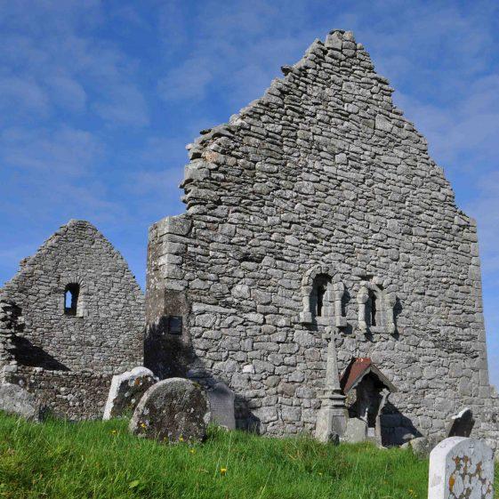 Romanesque church at Aghowle   Christiaan Corlett
