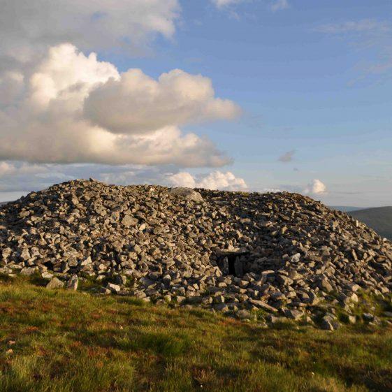 Passage tomb on the summit of Seefin   Christiaan Corlett