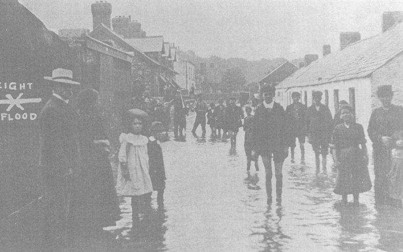 Sheridan's Lane, Little Bray after flood of August, 1905
