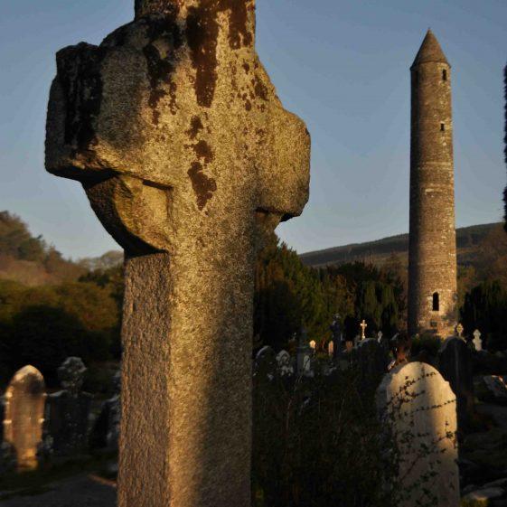 St Kevin's Cross at Glendalough   Christiaan Corlett