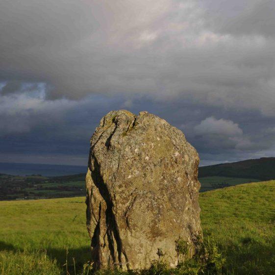Standing stone at Kilmurry near Newtownmountkennedy