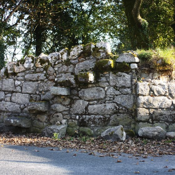 Stone steps in stone wall   The Pure Mile