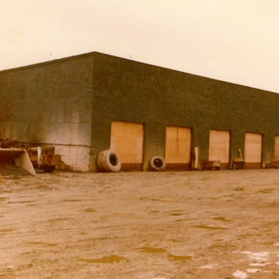 Scooptram Service Shed (Clad With Flattened Oil Drums) | Barry McKeon