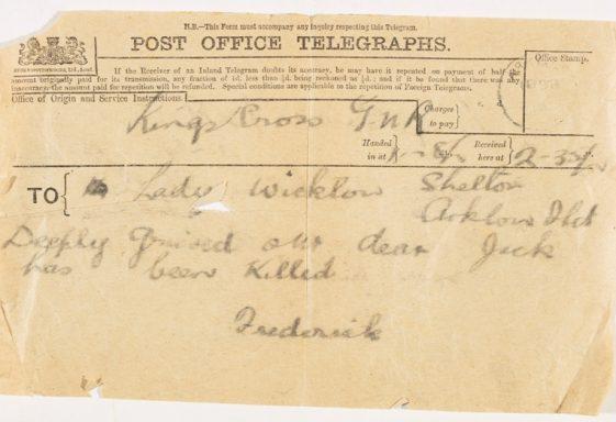 Wicklow's War: The First World War in County Wicklow