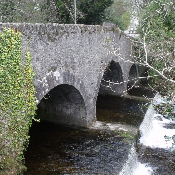 The Lacey Brothers bridge and weir | Ballinglen Development Committee