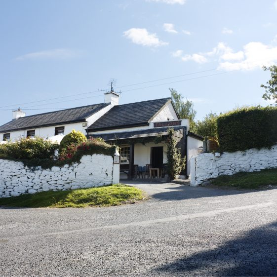 The Dying Cow - a legendary pub on the Wicklow Way   The Pure Mile