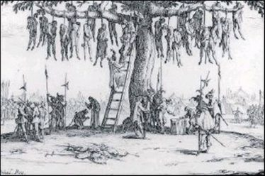 The 1640s were an unparalleled age of atrocity in Ireland, although this image is from similarly terrible times being experienced in France | The Irish Independent