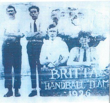 Brittas Handball Team 1926 | Brittas Bay National School