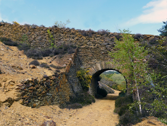 Tramway Arch - Ballymurtagh Mine | Mary Hargaden May 2015