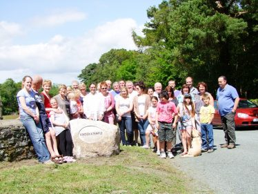 The Knockatemple gang | Roundwood Tidy Towns