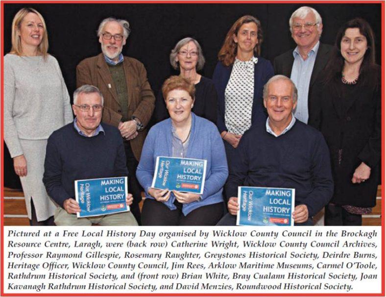 Making Local History Seminar 4th November 2017 | North Wicklow Times 14/11/17