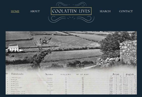 """Coolattin Lives"" Website Launch"