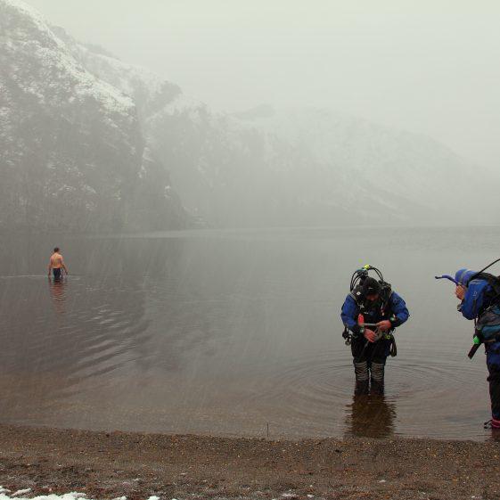 Two Divers & A Swimmer Glendalough - Winner People Category | Darren Flynn