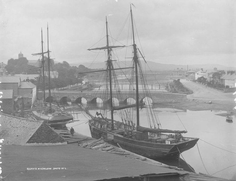 Quays, Wicklow circa 1900 | Lawrence Collection, National Library, Flickr creative commons