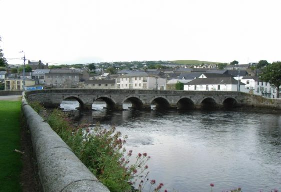 The Leitrim River, Wicklow Town