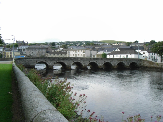 Leitrim River, Wicklow Town | https://www.geograph.ie/photo/1437981: Copyright JP and licensed for reuse under this Creative Commons Licence
