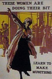 Women working in Munitions | Pat Power - Kynoch Walk Information Board