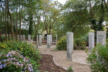 The World War I Memorial Park at Woodenbridge