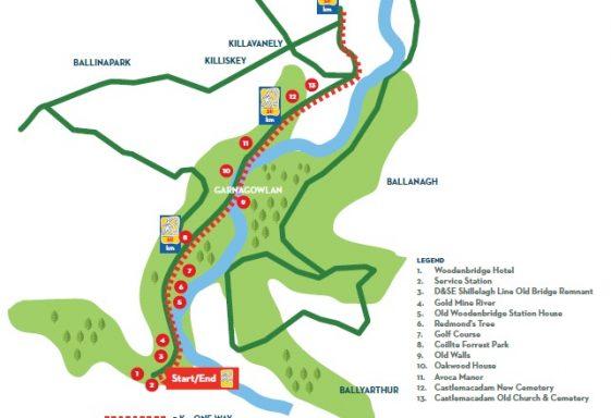 Woodenbridge PURE Mile (Sli na Slainte walk)