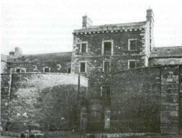 Wicklow Gaol pre 1950   Photo: Courtesy of Edward Kane