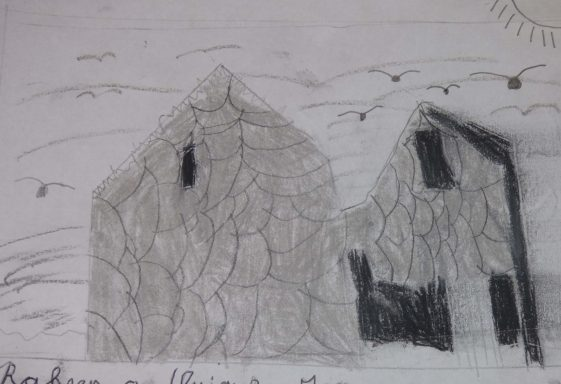 Raheen a Cluig: Uncovering Bray's Forgotten Monastic Grange Exhibition. Drawings by 4th Class Pupils of St. Cronin's School