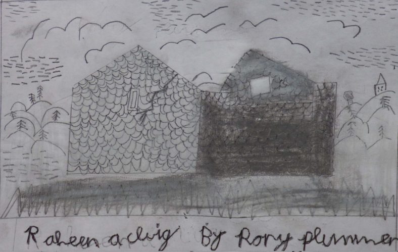 Raheen a Cluig: Uncovering Bray's Forgotten Monastic Grange Exhibition. Drawings by 4th Class Pupils of St. Cronin's School | Rory Plummer