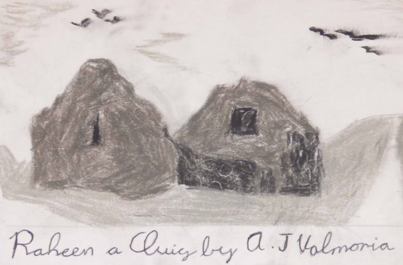 Raheen a Cluig: Uncovering Bray's Forgotten Monastic Grange Exhibition. Drawings by 4th Class Pupils of St. Cronin's School | A.J. Valmoria