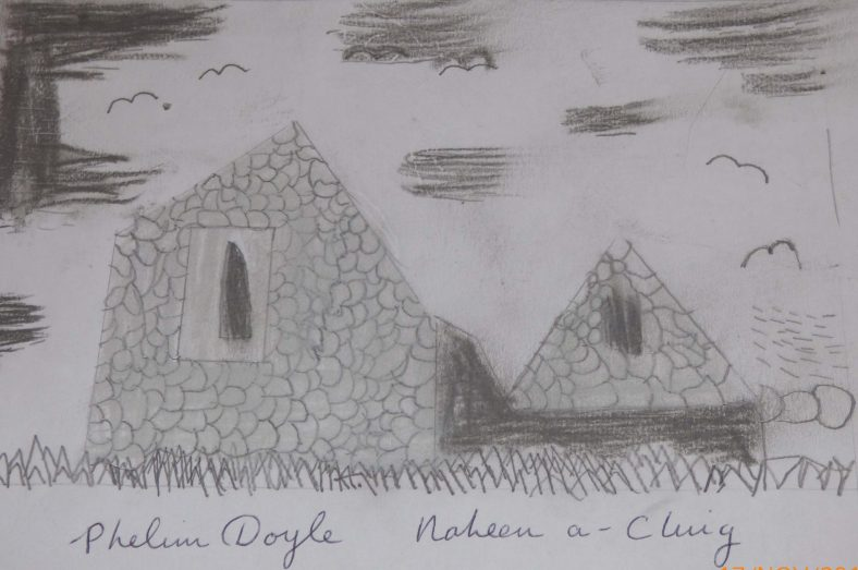 Raheen a Cluig: Uncovering Bray's Forgotten Monastic Grange Exhibition. Drawings by 4th Class Pupils of St. Cronin's School | Phelim Doyle