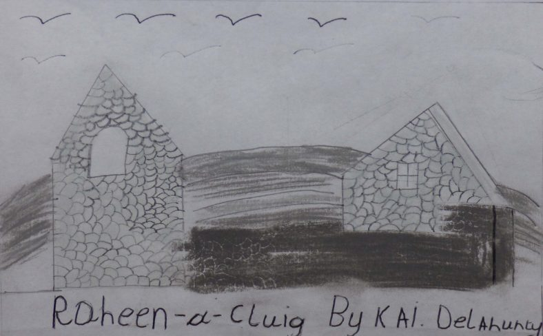 Raheen a Cluig: Uncovering Bray's Forgotten Monastic Grange Exhibition. Drawings by 4th Class Pupils of St. Cronin's School | Kal Delahunty