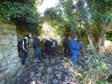 Field Trip to Ballyman Medieval Church 2020 | Medieval Bray Project